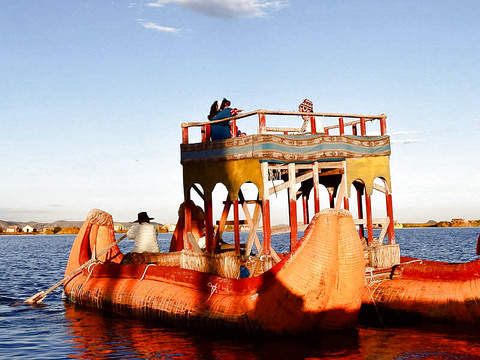Tour to the Floating Island of the Uros (Morning Shift).