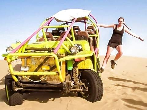 City Tour Ica + Buggie + Sandboarding (From Paracas)