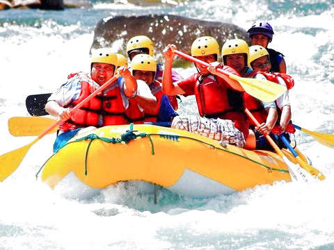 Rafting - Canoeing on the Chili River - Arequipa