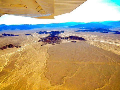 Overflight Nasca Lines (From Lima)