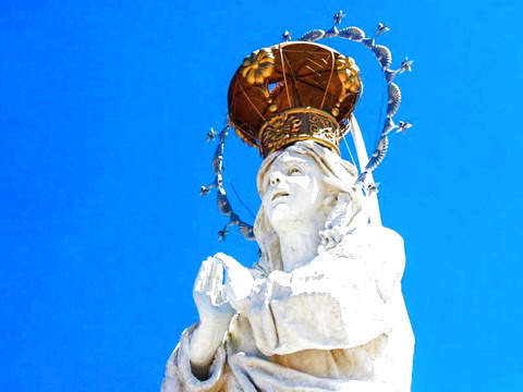 Full Day - Statue of the Immaculate Conception Virgin