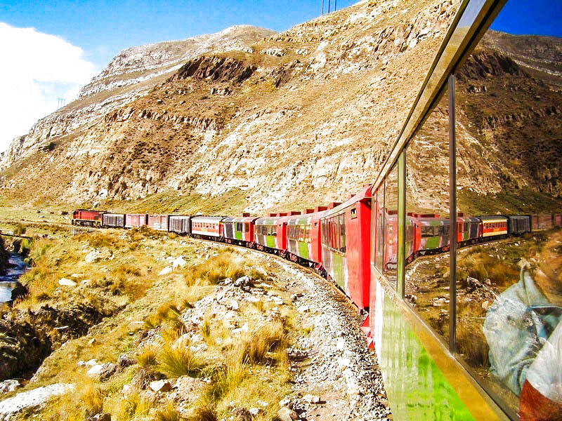 Train from Lima to Huancayo - 4d / 3n - Unforgettable Experience