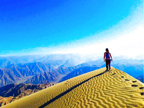 Hike and Adventure in the World's Highest Dune