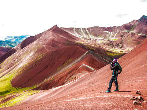 Mountain of Colors + Red Valley