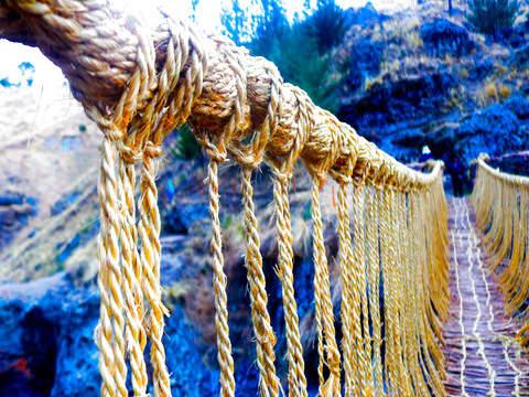 Qeswachaca - Last Inca Bridge