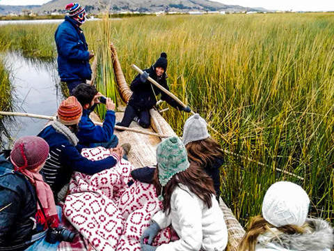 Cultural Tour to the Floating Islands of the Uros