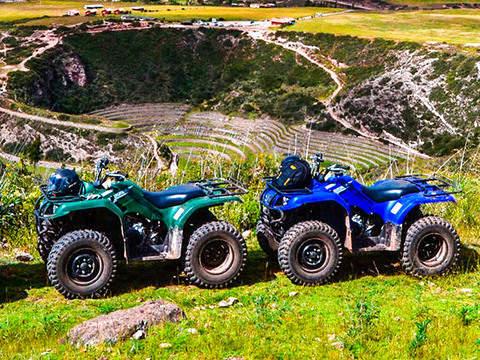 Tour a Maras Moray y Salineras en Cuatrimoto