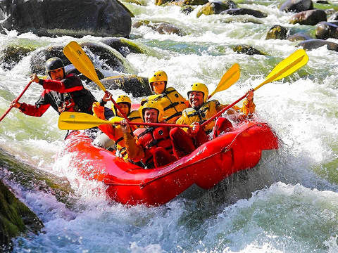 Rafting in Arequipa: Rio Chili