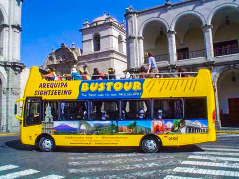Bus City Tour in Arequipa.