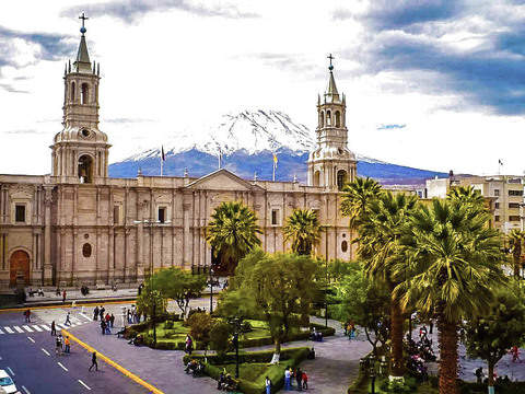 Arequipa Luxury Tour - Hotel Colca Lodge in Yanque - 4d / 3n
