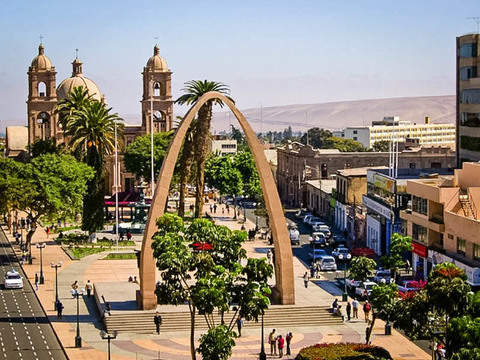 Tour in Tacna Center + Campiña + Fullday Arica
