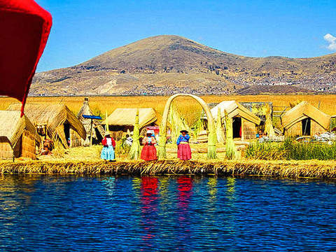 Full Day Islands of the Uros and Taquile - Speed Boat