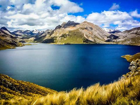 Paradise in Marcapomacocha