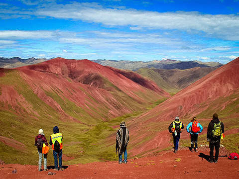 Novelty in Cusco: Fullday Red Valley + Mountain Seven Colors