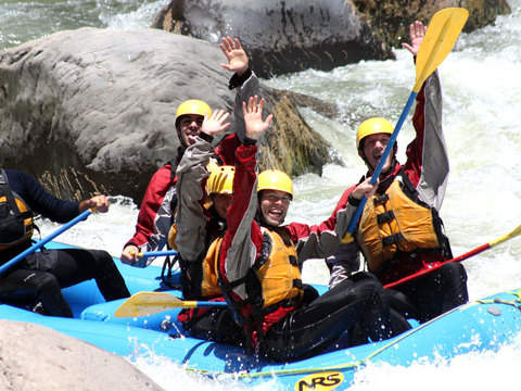 Rafting Full Adrenalina en el Río Chili