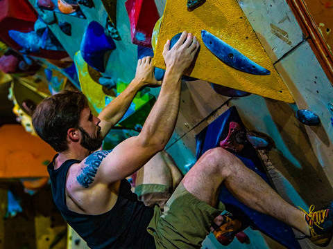 Climbing Course in Palestra