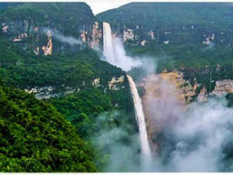 Trekking to the Gocta Waterfall