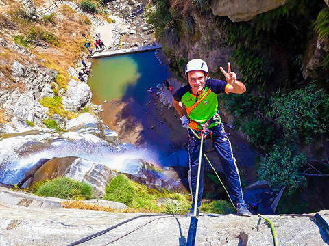 Rappel and Canyoning in Huanano Falls and Songos - from Lima
