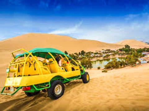 Half Day Ica + Paracas + Buggies + Sandboarding