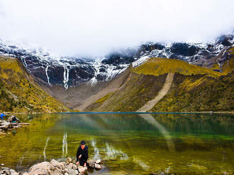 Trekking to the Humantay Lagoon
