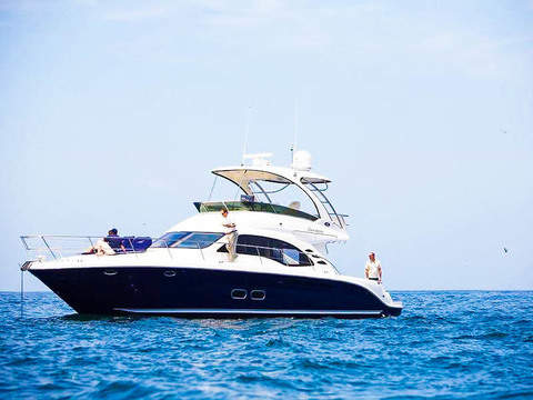 Luxury Yacht ride through the bay of Paracas