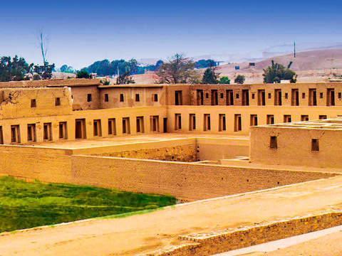 Archaeological Tour - Sacred Citadel of Pachacamac