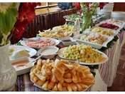 buffet en Urubamba