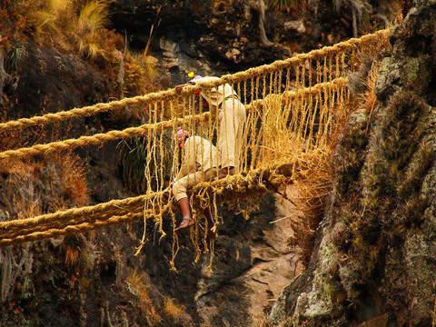 Qeswachaka: the Last Inca Bridge