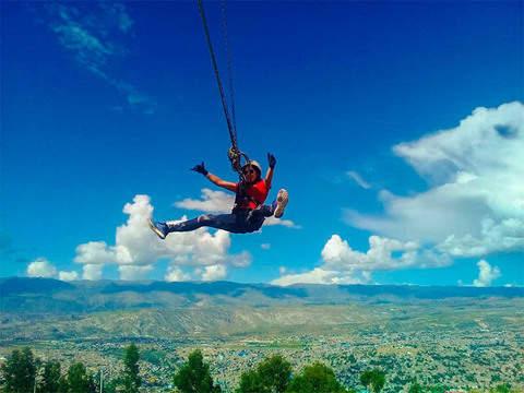 Columpio Extremo en Ayacucho