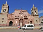 Huamanga main square