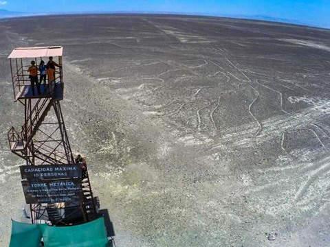 2d/1n Observación de las Líneas de Nazca en las Pampas