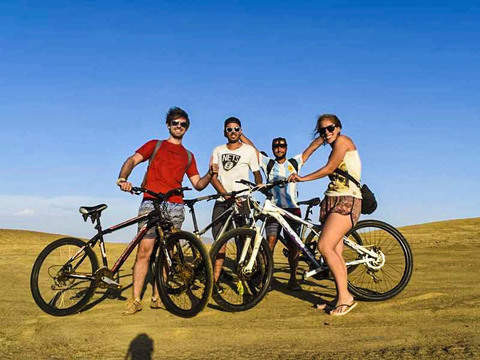 Bicycle in the Paracas National Reserve