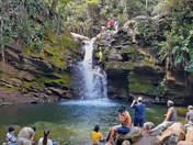 Cascada el León en Villa Rica