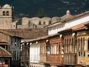 Cusco balconies