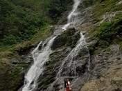 Monkey waterfall