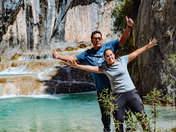 Turistas en Millpu