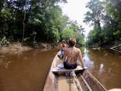 navegacion en canoa